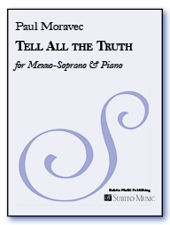 Tell All the Truth for Mezzo-Soprano & Piano