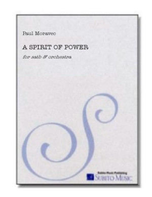Spirit of Power, A for SATB chorus & organ