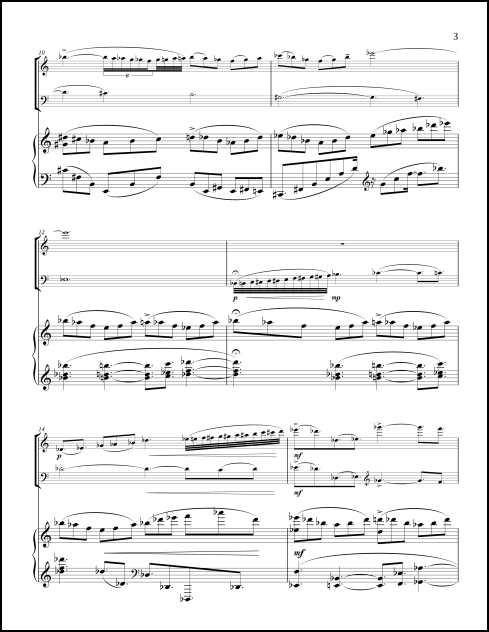 B.A.S.S. Variations for violin, cello & piano