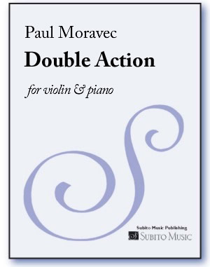Double Action for violin & piano