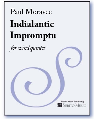 Indialantic Impromptu for wind quintet