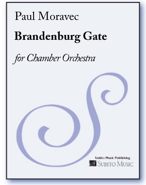 Brandenburg Gate for chamber orchestra
