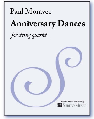 Anniversary Dances for string quartet