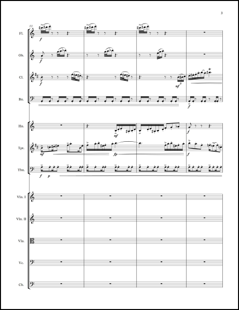 Albany Rhythms for chamber orchestra - Click Image to Close