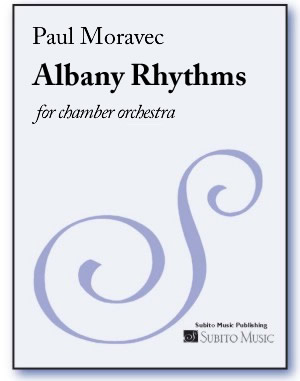 Albany Rhythms for chamber orchestra