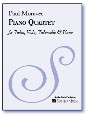 Piano Quartet for Violin, Viola, Violoncello & Piano