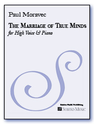 Marriage of True Minds, The for High Voice & Piano - Click Image to Close