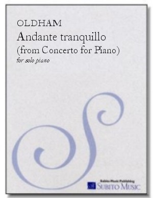 Andante Tranquillo for piano
