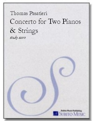 Concerto for Two Pianos & Strings