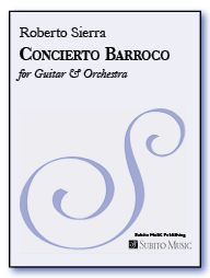 Concierto Barroco concerto for guitar & orchestra