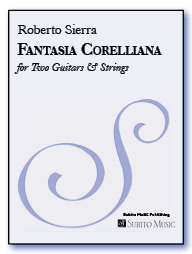 Fantasia Corelliana for two guitars & strings