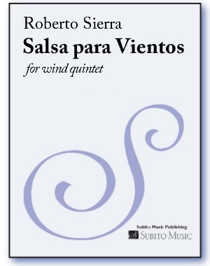 Salsa para Vientos for wind quintet