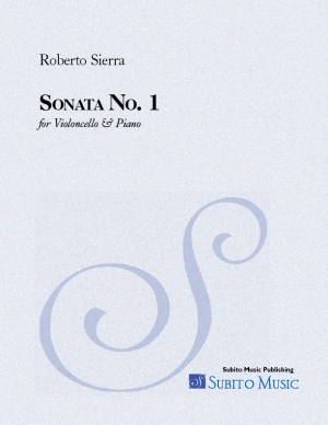 Sonata No. 1 for violoncello & piano