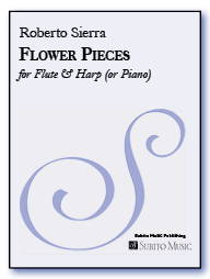 Flower Pieces for flute & harp (or piano) - Click Image to Close
