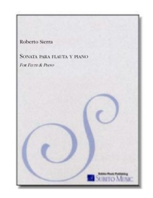 Sonata No. 1 for flute & piano
