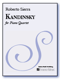 Kandinsky for piano quartet