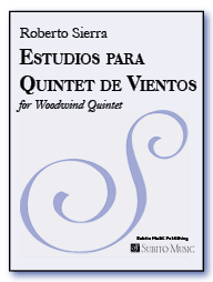 Estudios para Quinteto de Vientos for Wind Quintet - Click Image to Close