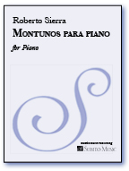 Montunos para Piano for Piano Solo