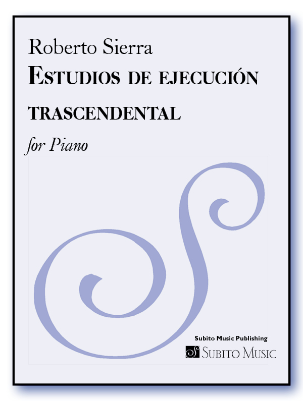 Estudios de ejecución trascendental for Piano
