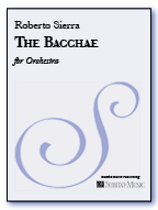 Bacchae, The for orchestra