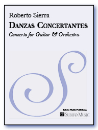 Danzas Concertantes concerto for guitar & orchestra
