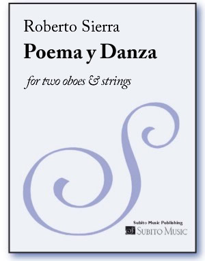 Poema y Danza for two oboes & strings