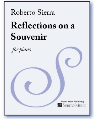 Reflections on a Souvenir for piano