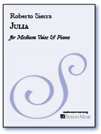 Julia for Medium Voice & Piano