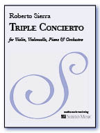 Triple Concierto for Violin, Violoncello, Piano & Orchestra