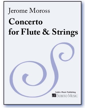 Concerto for Flute & String Orchestra (or String Quartet) piano reduction