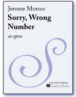 Sorry, Wrong Number an opera