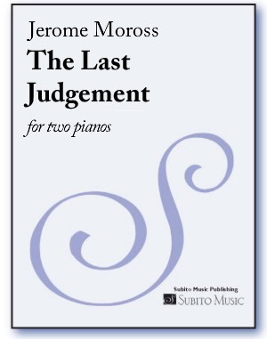 Last Judgement, The for two pianos - Click Image to Close
