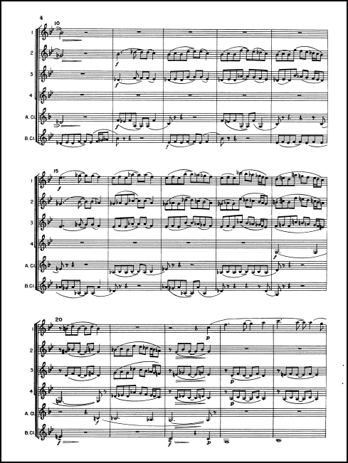 Sonatina for Clarinet Choir