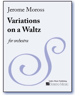 Variations on a Waltz for orchestra