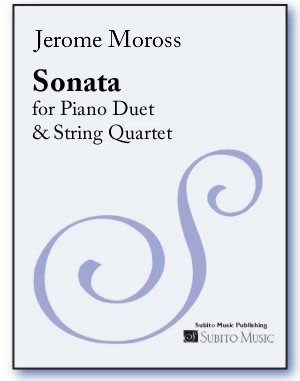 Sonata for Piano Duet & String Quartet