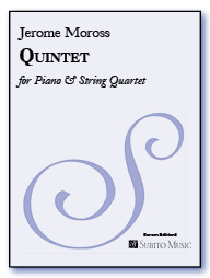 Quintet for Piano & Strings for Piano & String Quartet