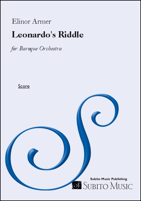 Leonardo's Riddle for Baroque orchestra