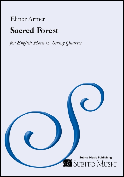 Sacred Forest for English Horn & String Quartet