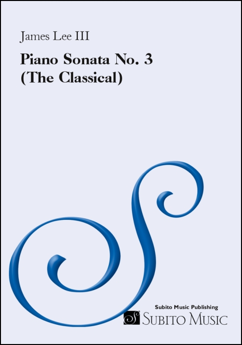 Piano Sonata No. 3 (The Classical)