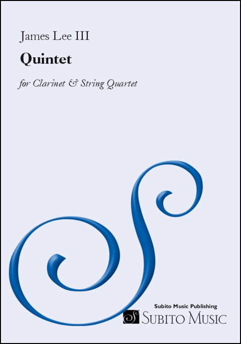 Quintet for Clarinet & String Quartet