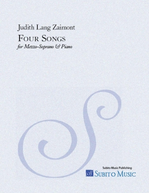 Four Songs ( Cummings Songs) for mezzo soprano & piano