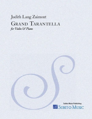 Grand Tarantella for violin & piano