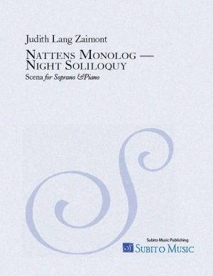 Nattens monolog - Night Soliloquy scena for soprano & piano