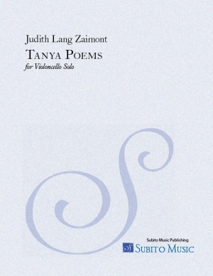Tanya Poems for violoncello solo