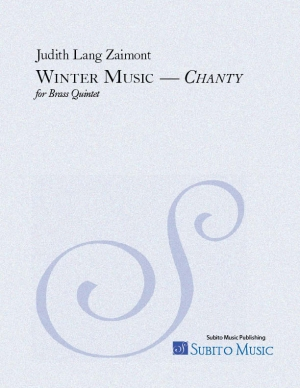 Winter Music chanty for brass quintet