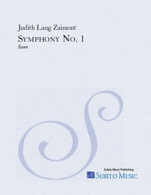 Symphony No. 1 for orchestra