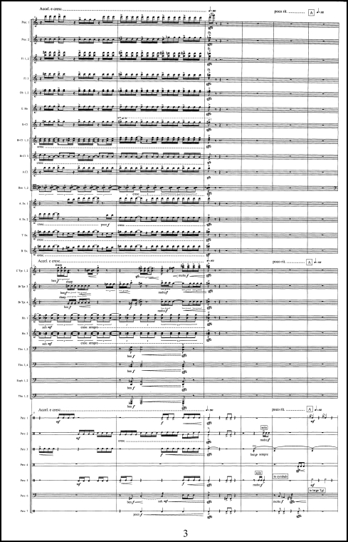Symphony for Wind Orchestra in Three Scenes