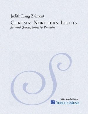 Chroma Northern Lights for wind quintet, strings & percussion