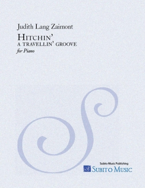 Hitchin' - a travellin' groove for piano