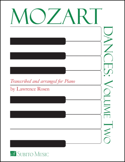 Dances: Volume 2 for Piano